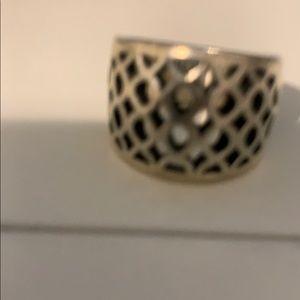 JA Sterling Silver Ring